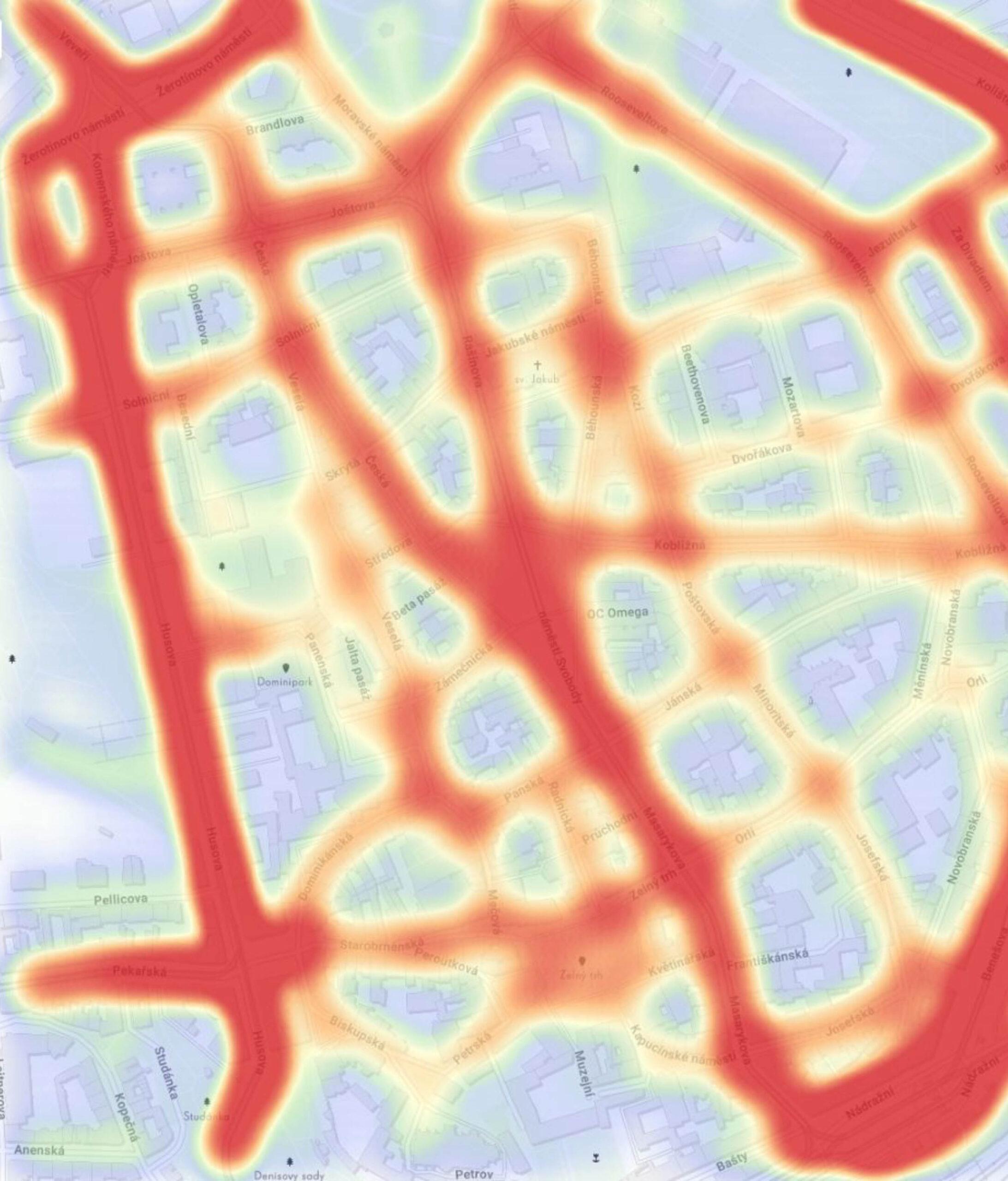 Mobilitní data - Unacast
